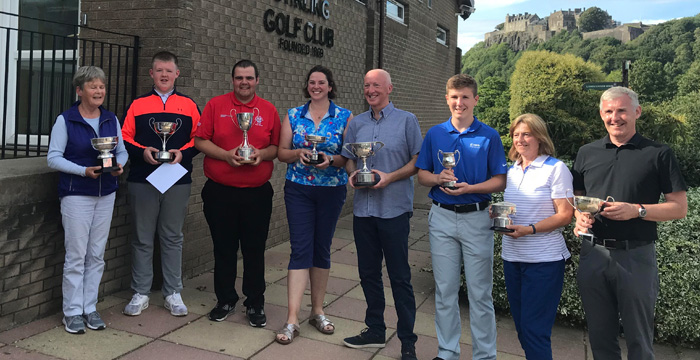 Congratulations to all our Club Champions