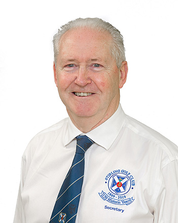 Garry Bowman, Managing Secretary, Stirling Golf Club