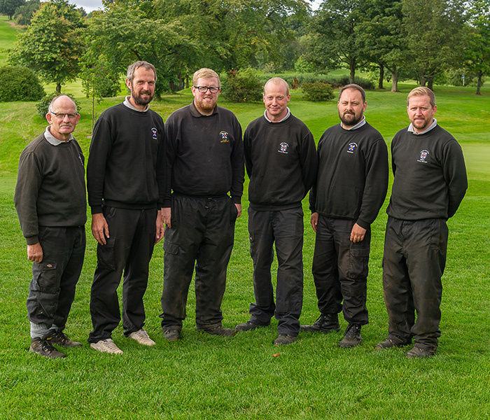 Green Staff Group, Stirling Golf Club