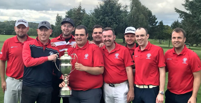 Stirling Golf Club Gents League Team win the Stirlingshire Golf Union League