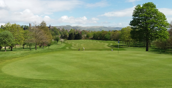 Course Gallery - Stirling Golf Club - 1st Hole, Polmaise