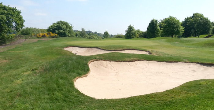 Course Gallery - Stirling Golf Club - 10th Hole, Quarry