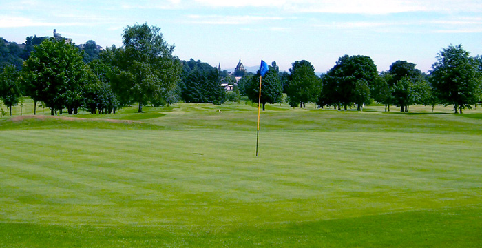 Course Gallery - Stirling Golf Club - 12th Hole, Ben Lomond