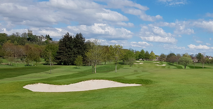 Course Gallery - Stirling Golf Club - 13th Hole, Mound