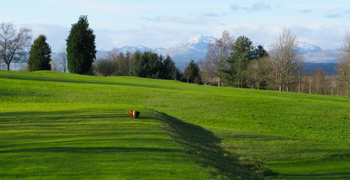 Course Gallery - Stirling Golf Club - 16th Hole, Ben Venue