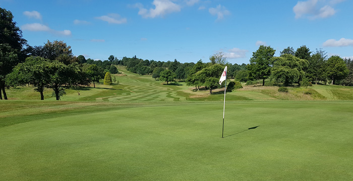 Course Gallery - Stirling Golf Club - 18th Hole, Castle