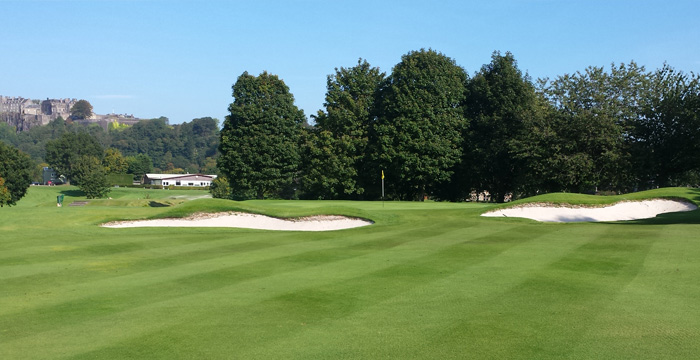 Course Gallery - Stirling Golf Club - 2nd Hole, Towers