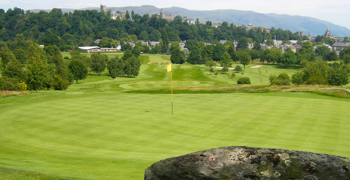 Course Gallery - Stirling Golf Club - 3rd Hole, Rocking Stone