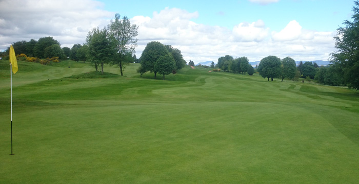 Course Gallery - Stirling Golf Club - 4th Hole, Elms