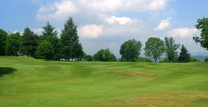 Course Gallery - Stirling Golf Club - 5th Hole, Tree Out