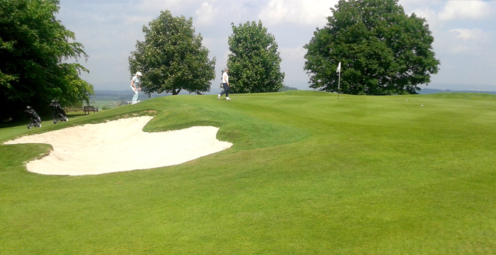 Course Gallery - Stirling Golf Club - 9th Hole, The Butts
