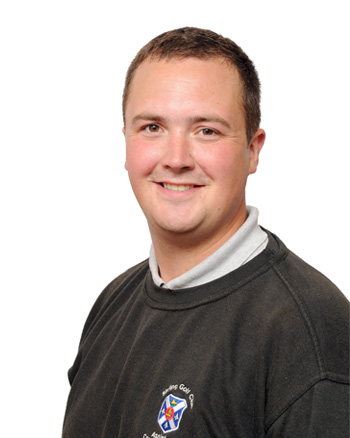 Scott McKnight, Assistant Course Manager, Stirling Golf Club
